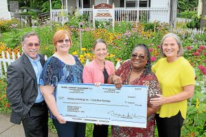Maxwell Property Management donated $5,000 to Shelters of Saratoga's Code Blue program
